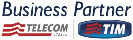 Business partner telecom Italia